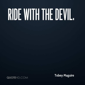 Ride with the Devil.