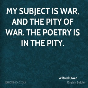 "The Pity Of War In Owen's ""Strange Meeting"" Essay Sample"