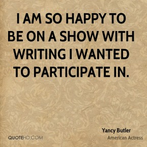 I am so happy to be on a show with writing I wanted to participate in.