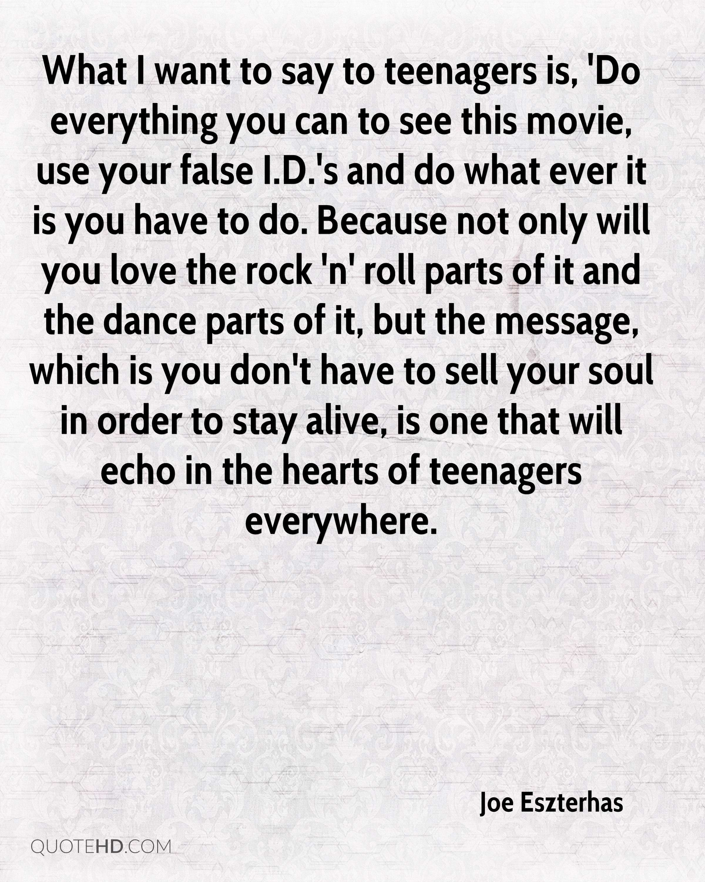 Another movie not quote teen #2