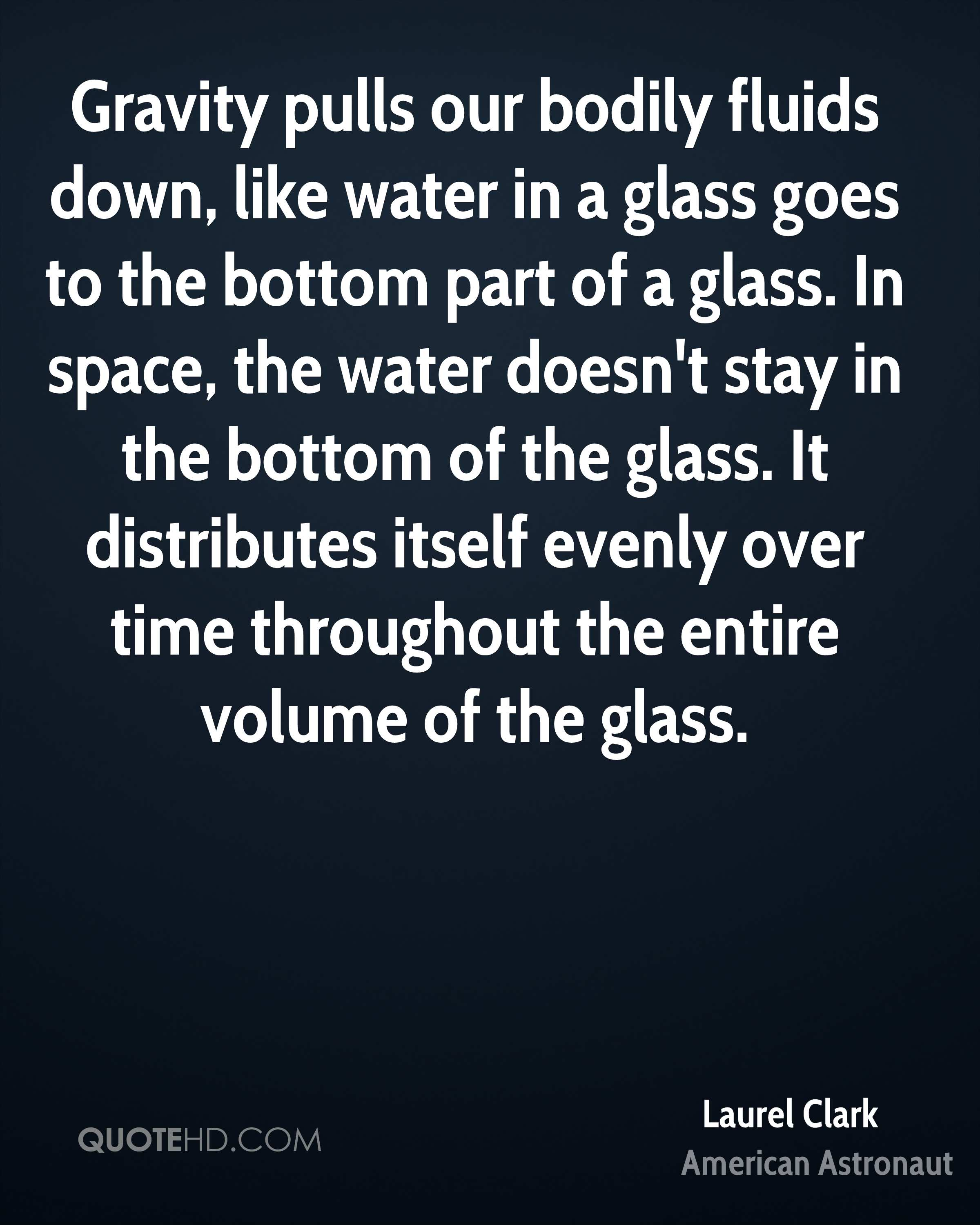 Gravity pulls our bodily fluids down, like water in a glass goes to the bottom part of a glass. In space, the water doesn't stay in the bottom of the glass. It distributes itself evenly over time throughout the entire volume of the glass.