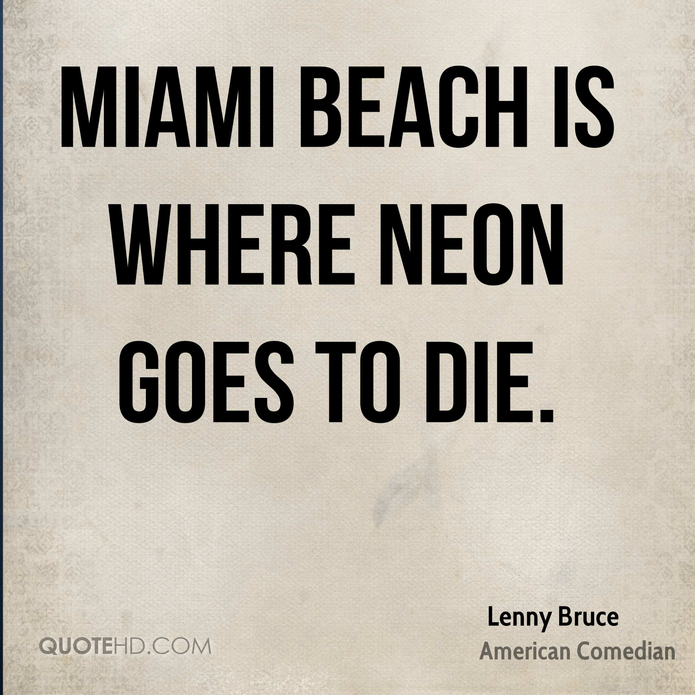 Lenny Bruce Funny Quotes | QuoteHD