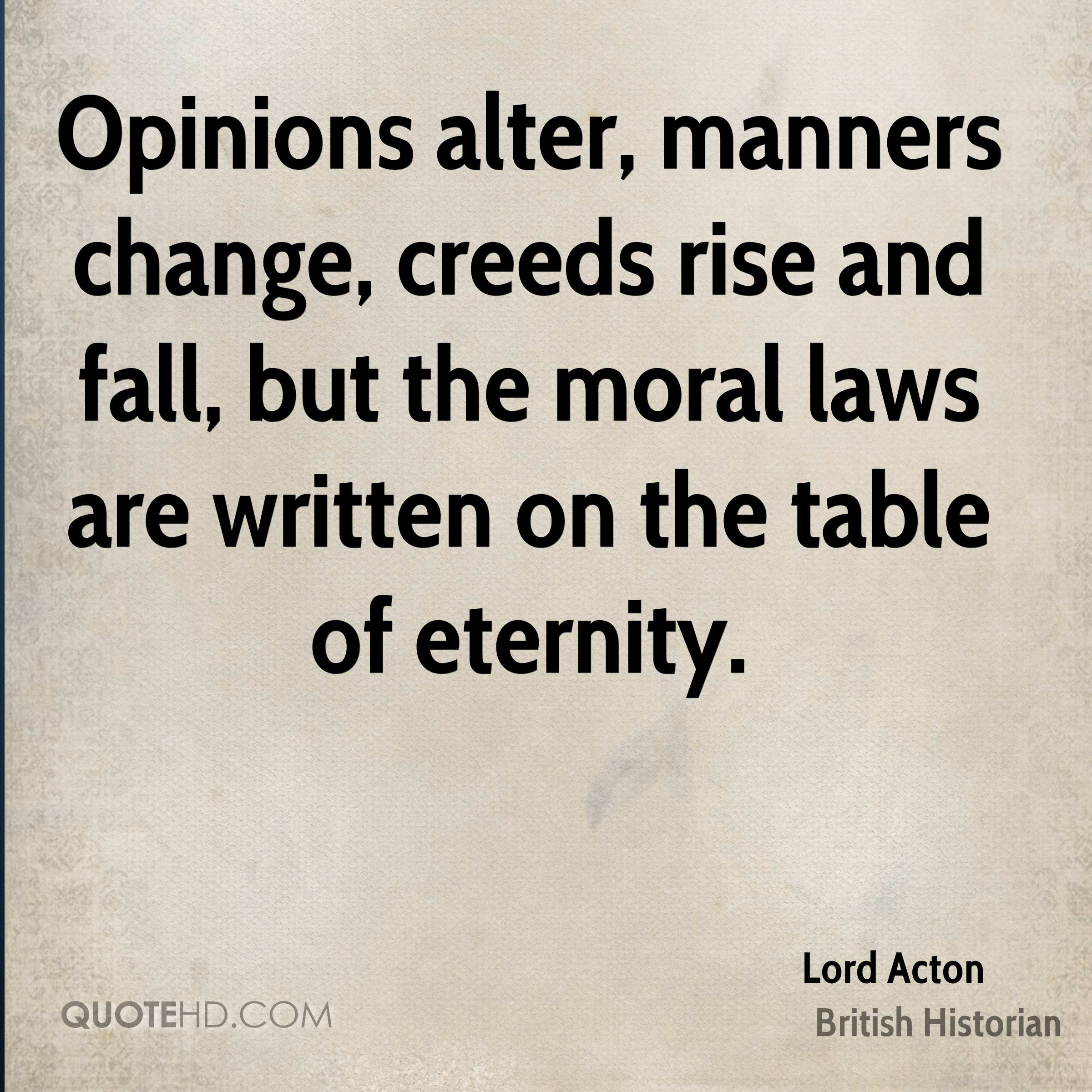 Lord Acton Change Quotes   QuoteHD