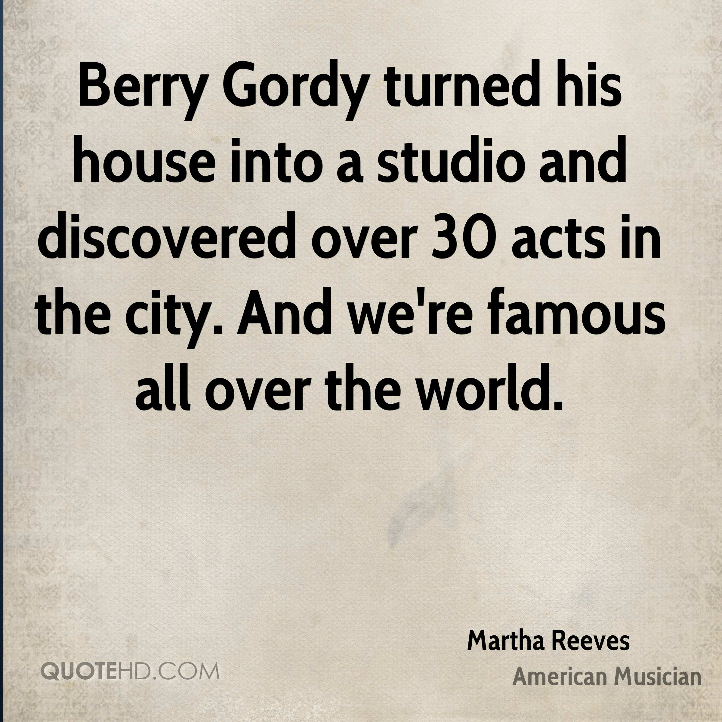 Martha Reeves Quotes Quotehd