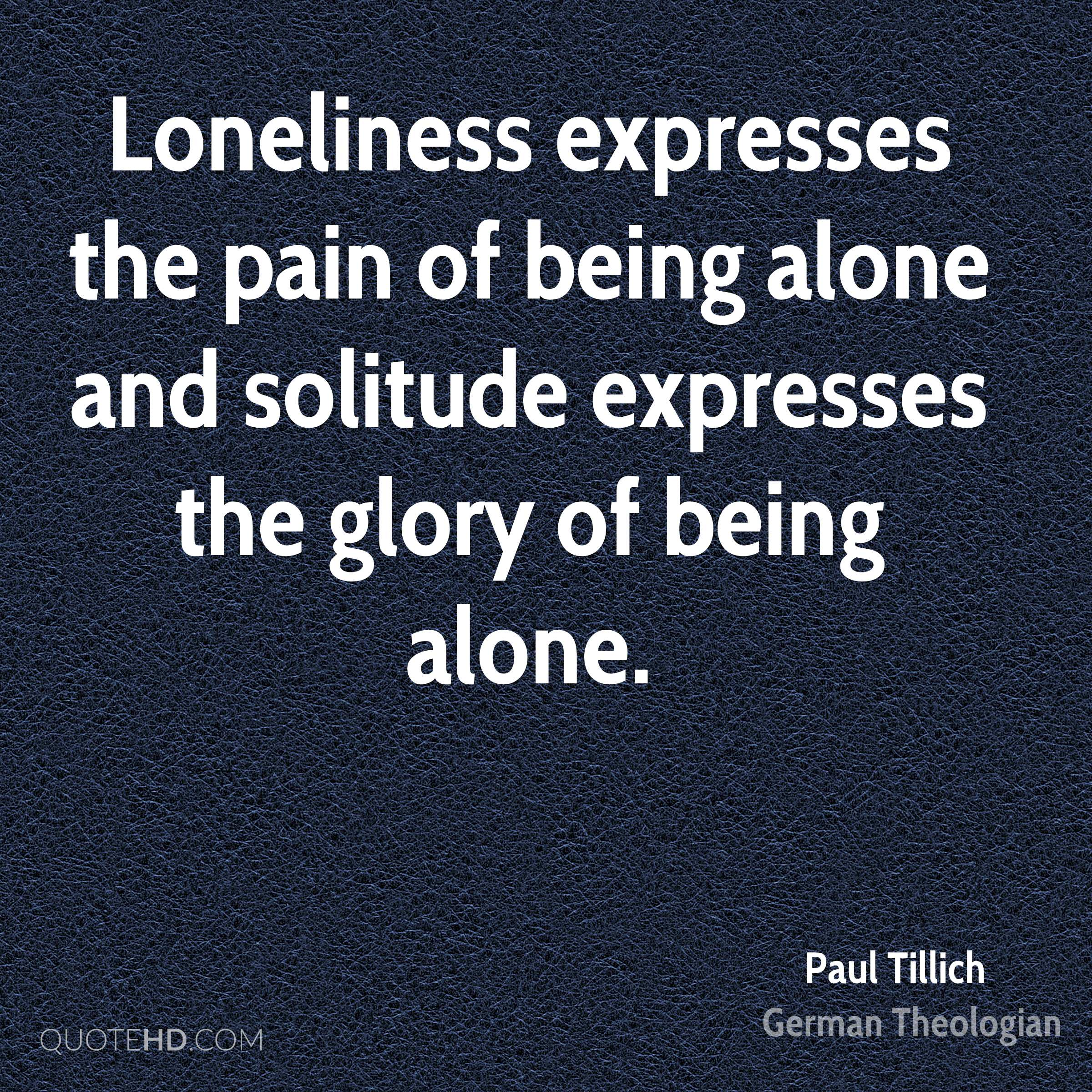 Quotes On Solitude Paul Tillich Quotes  Quotehd