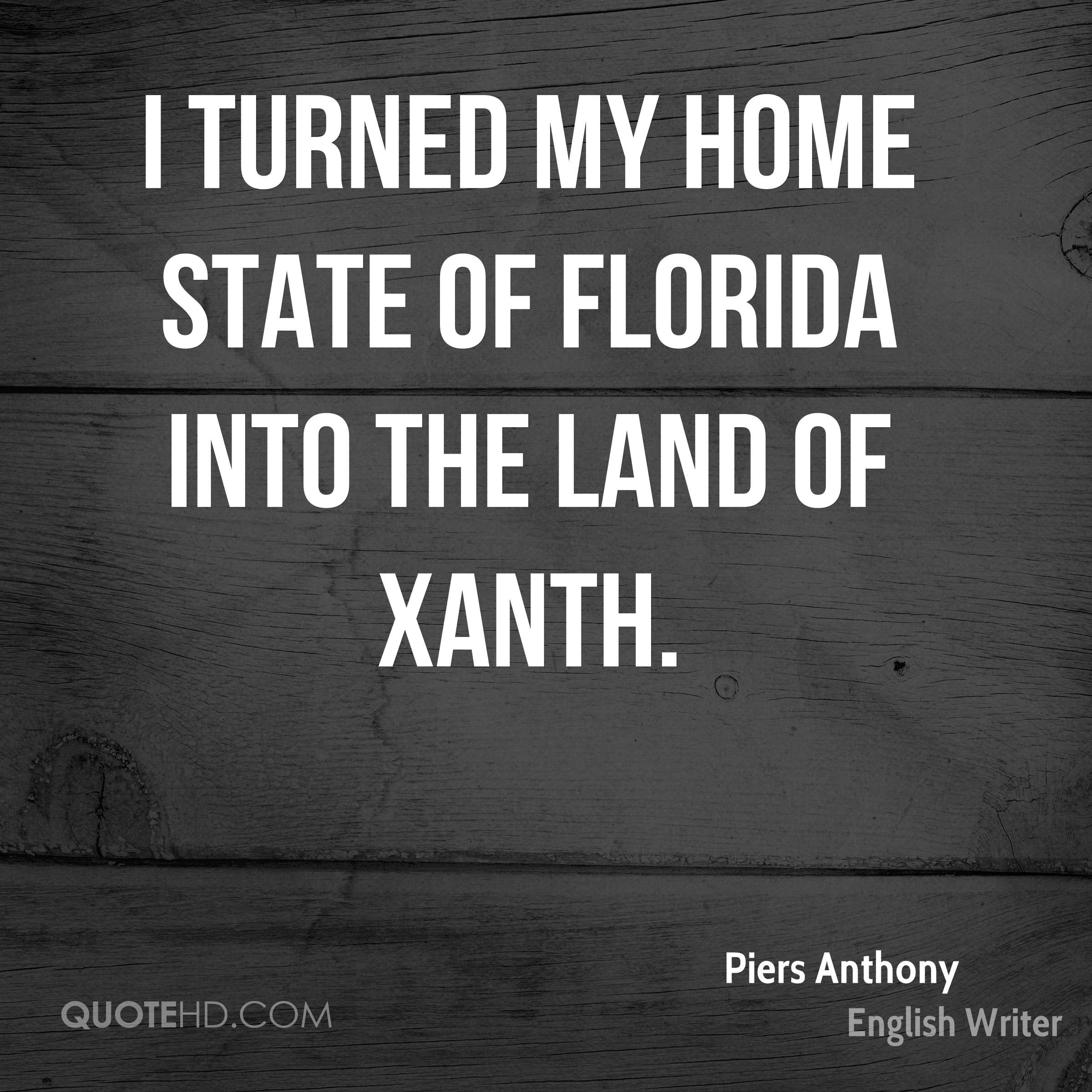 I turned my home state of Florida into the Land of Xanth.