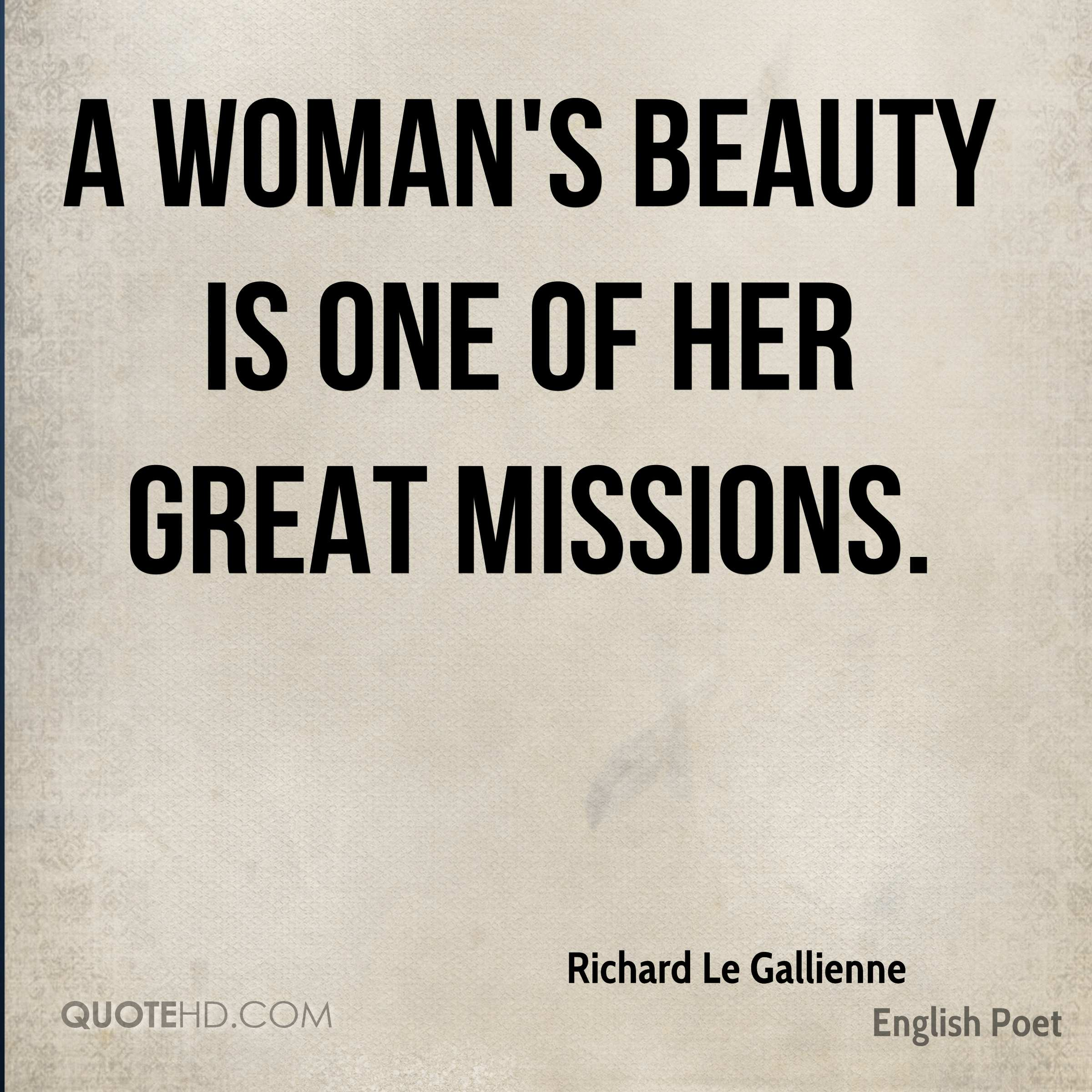 Richard Le Gallienne Beauty Quotes | QuoteHD