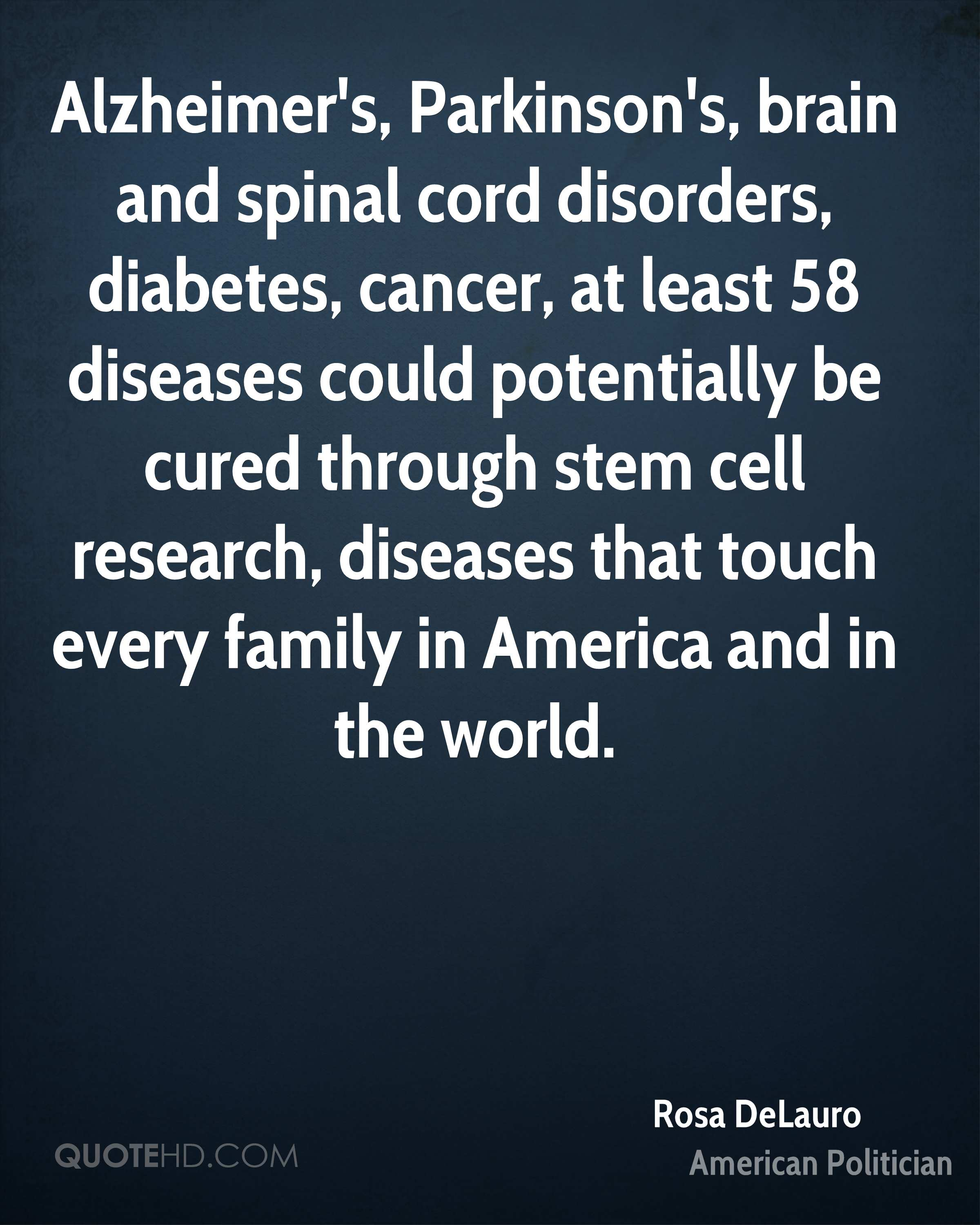 Diabetes Quotes Rosa Delauro Quotes  Quotehd