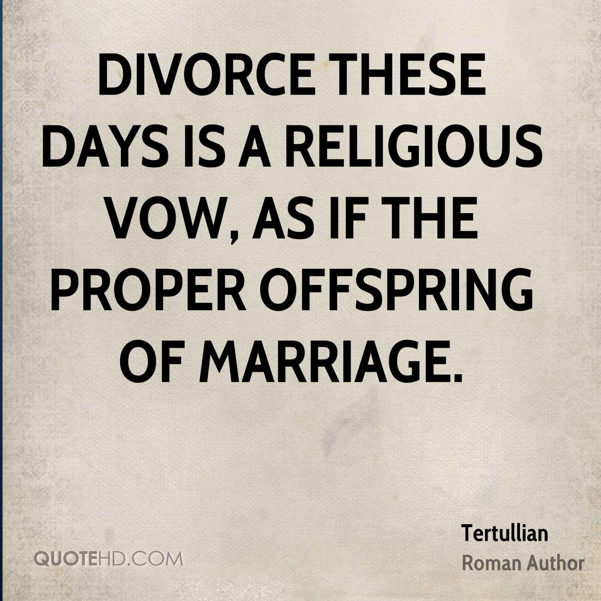 Religious Quotes About Life Tertullian Marriage Quotes  Quotehd