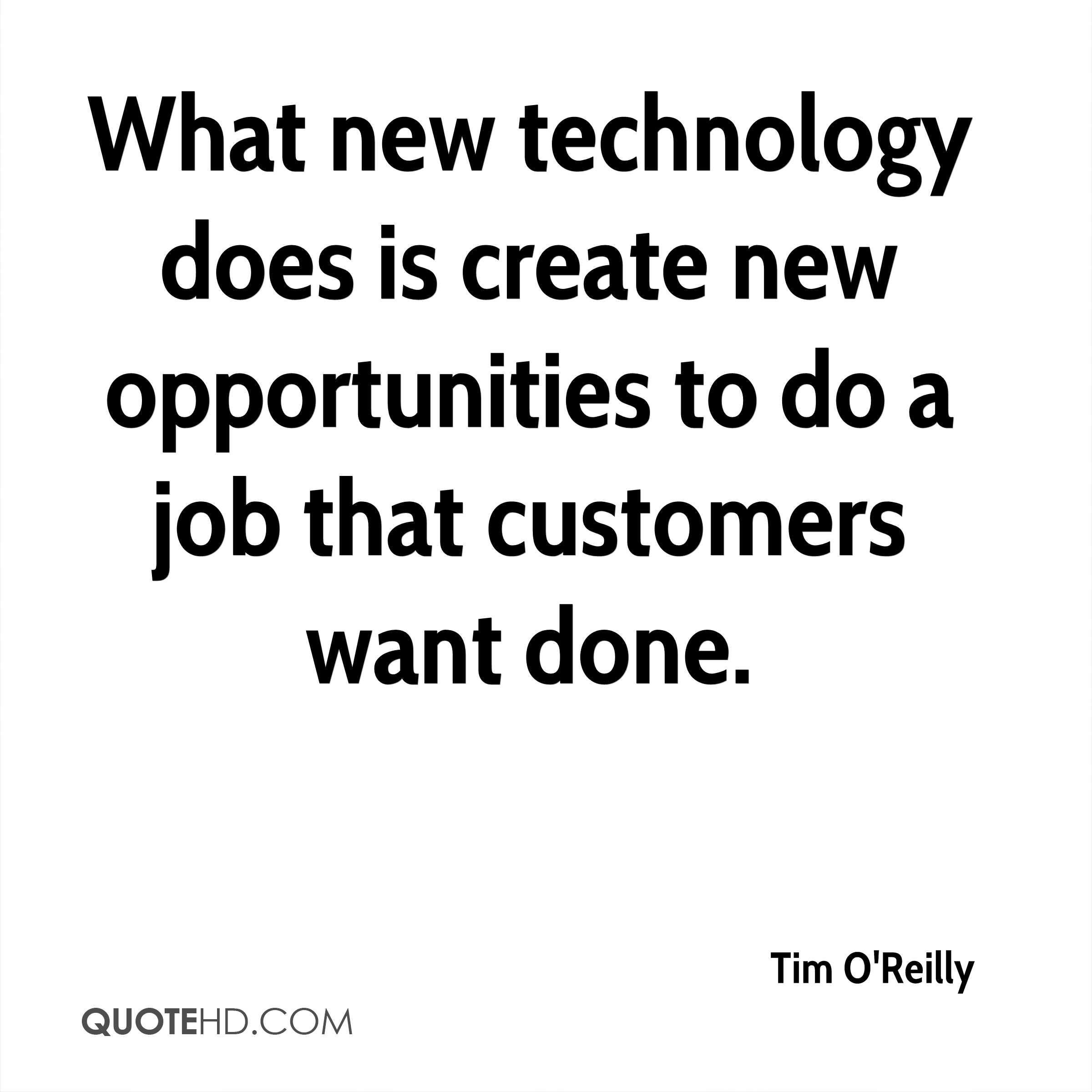 Modern technology is creating a single
