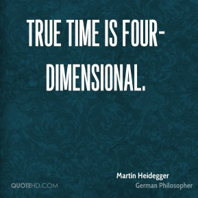 True time is four-dimensional.