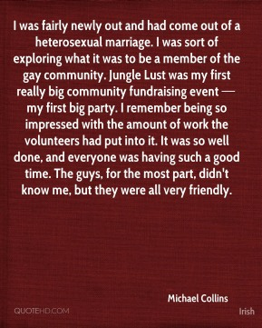 I was fairly newly out and had come out of a heterosexual marriage. I was sort of exploring what it was to be a member of the gay community. Jungle Lust was my first really big community fundraising event — my first big party. I remember being so impressed with the amount of work the volunteers had put into it. It was so well done, and everyone was having such a good time. The guys, for the most part, didn't know me, but they were all very friendly.