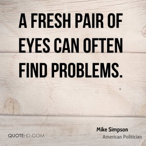 A fresh pair of eyes can often find problems.