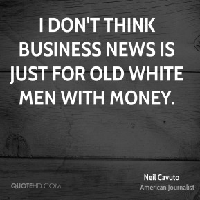 I don't think business news is just for old white men with money.