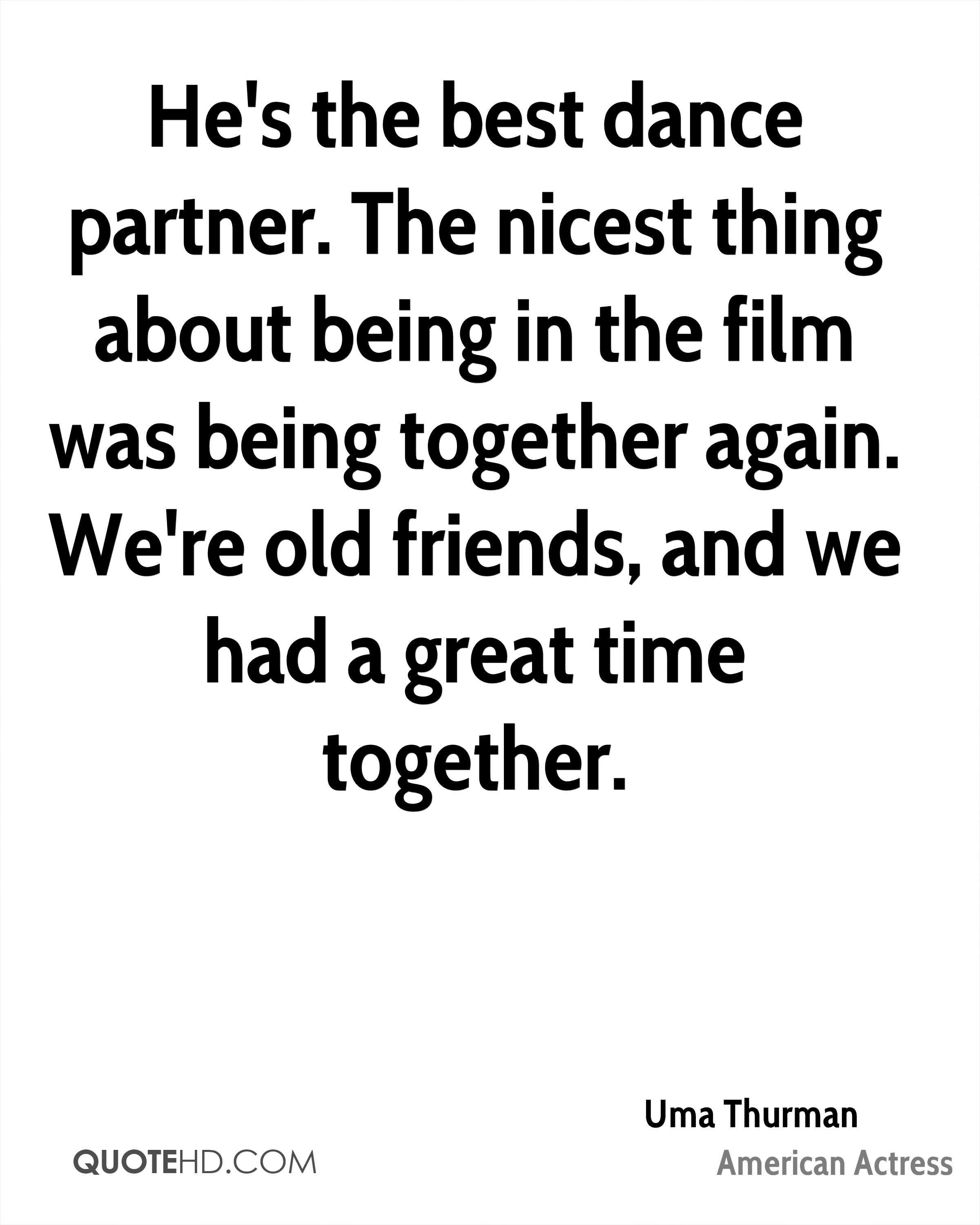 Being Together Quotes Uma Thurman Quotes  Quotehd