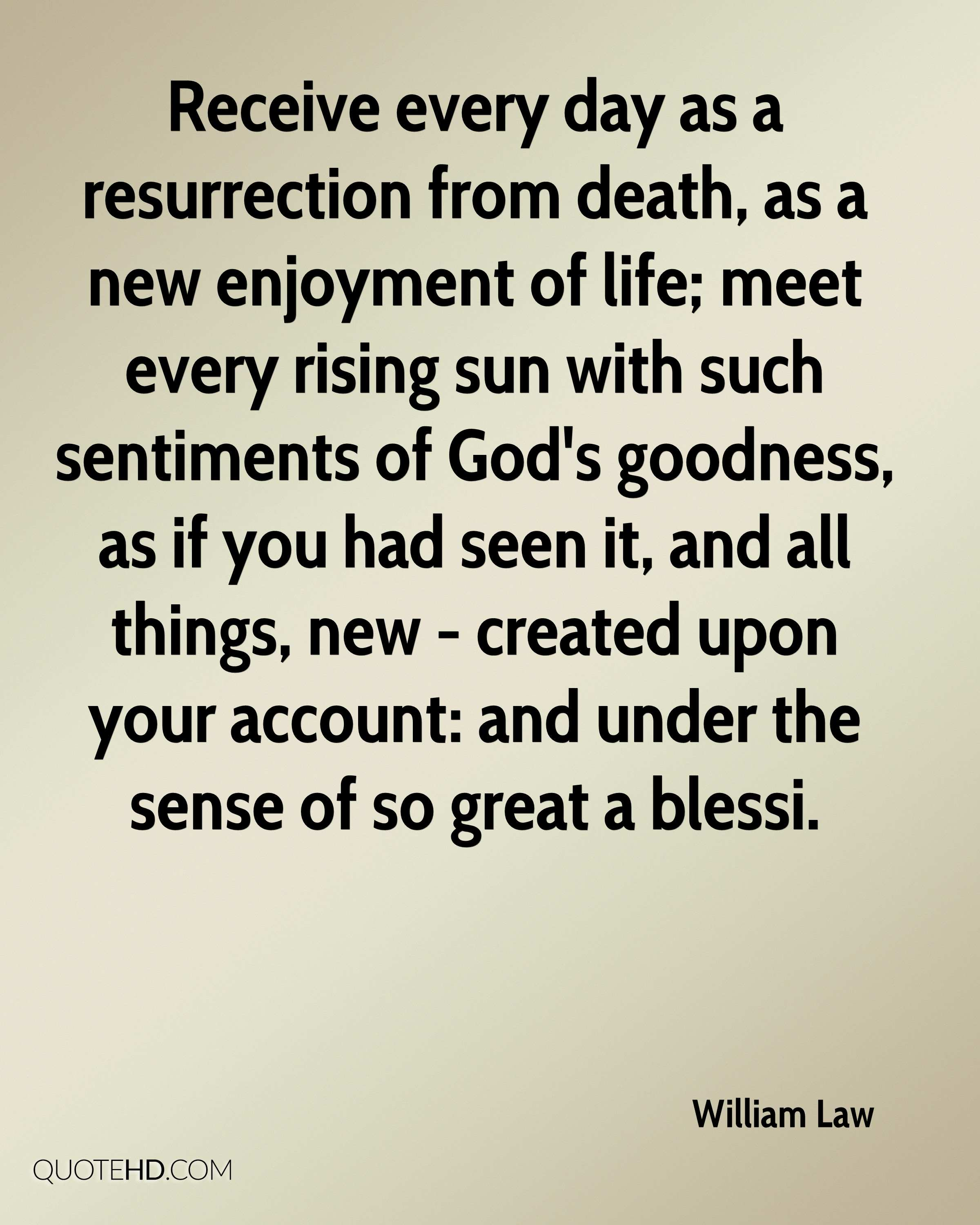 Great Quotes About Life And Death: William Law Death Quotes