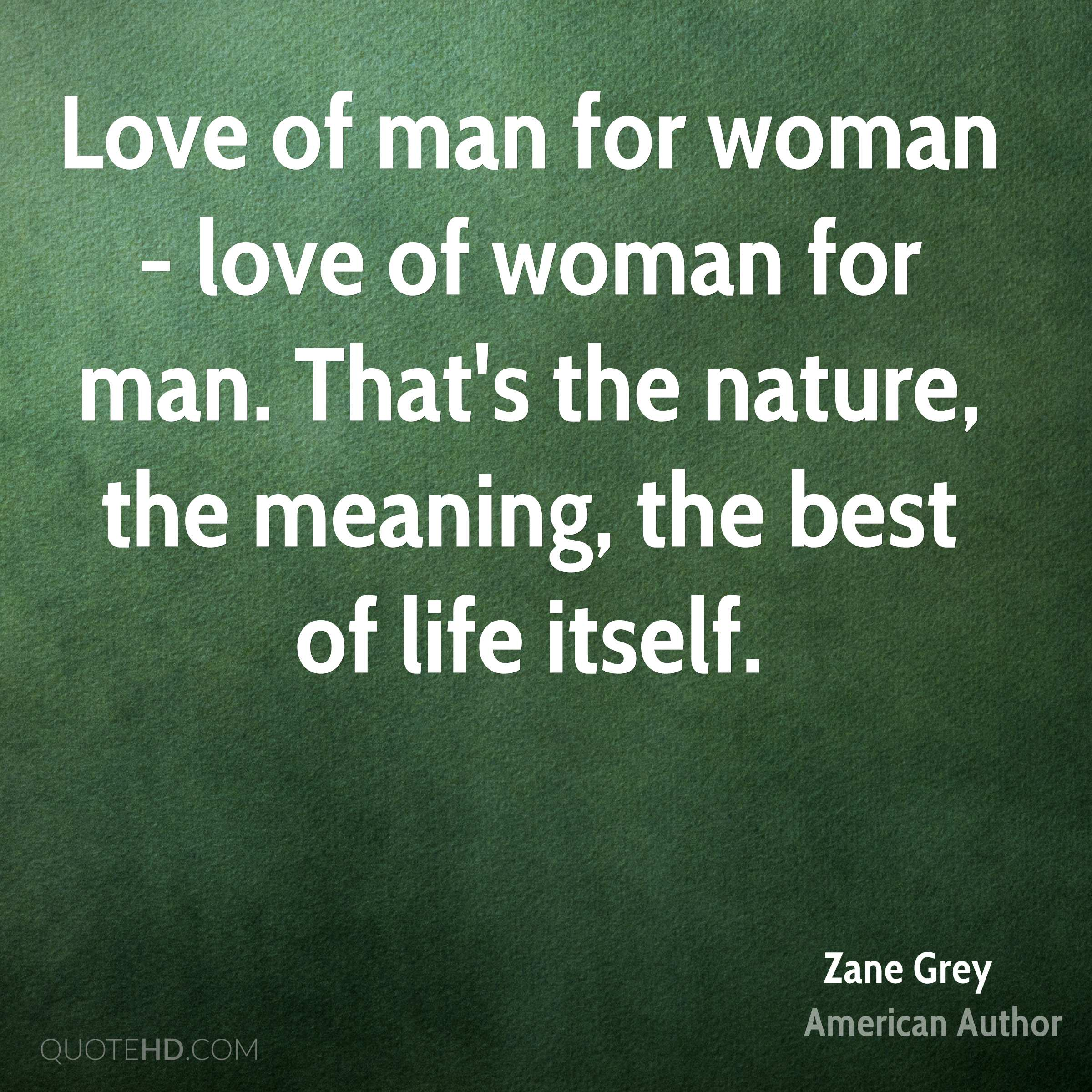 man environment relationship definition of