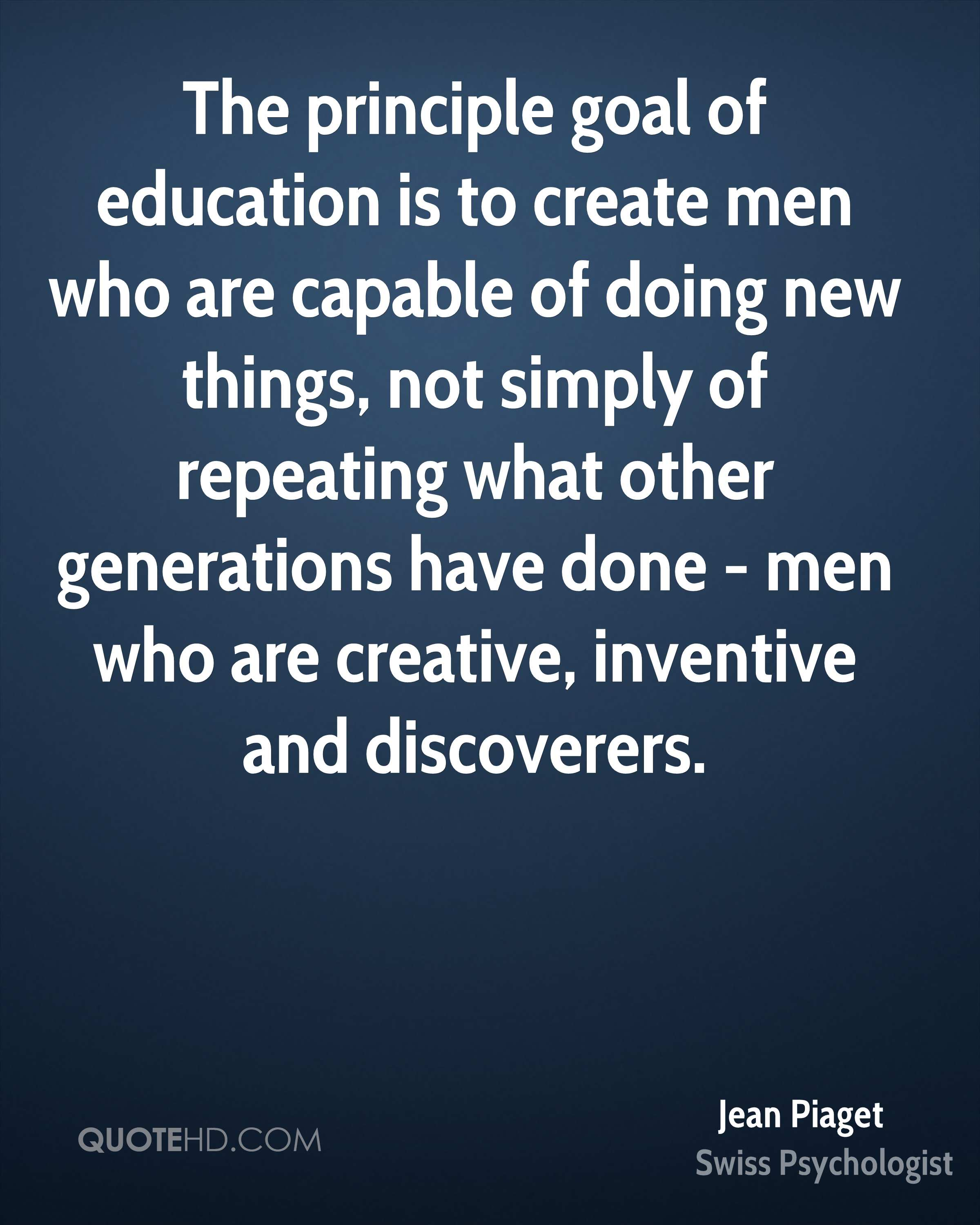 jean piaget quotes quotehd