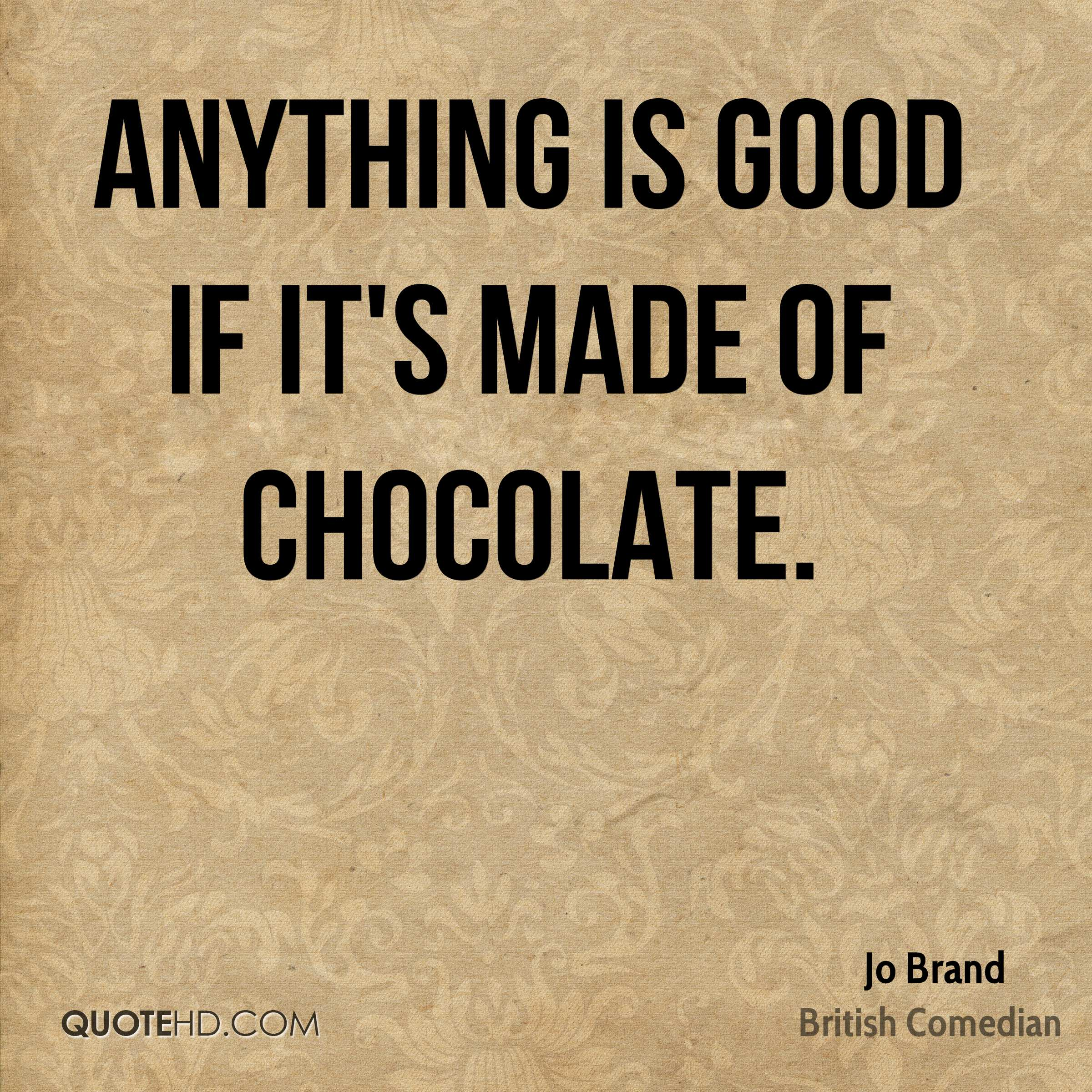 Jo Brand Food Quotes | QuoteHD