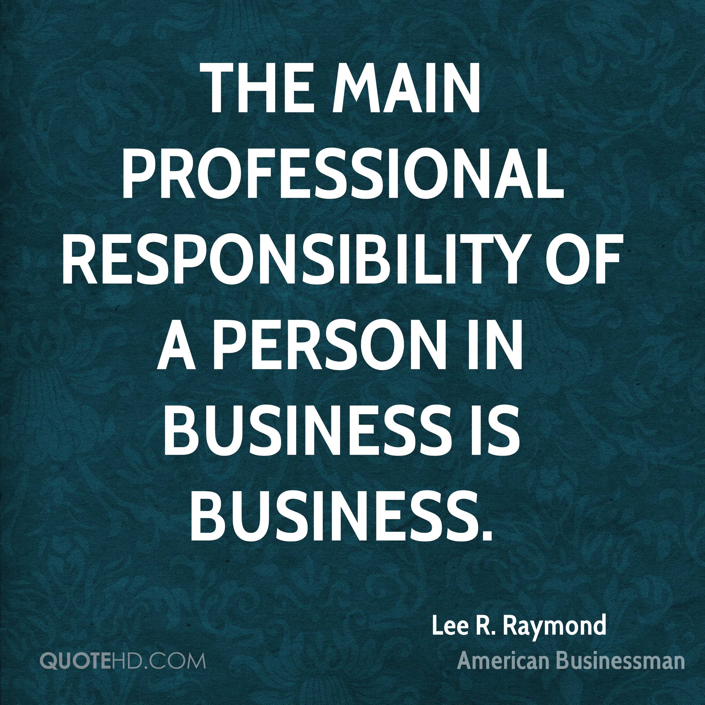 Professional Quotes Lee Rraymond Quotes  Quotehd