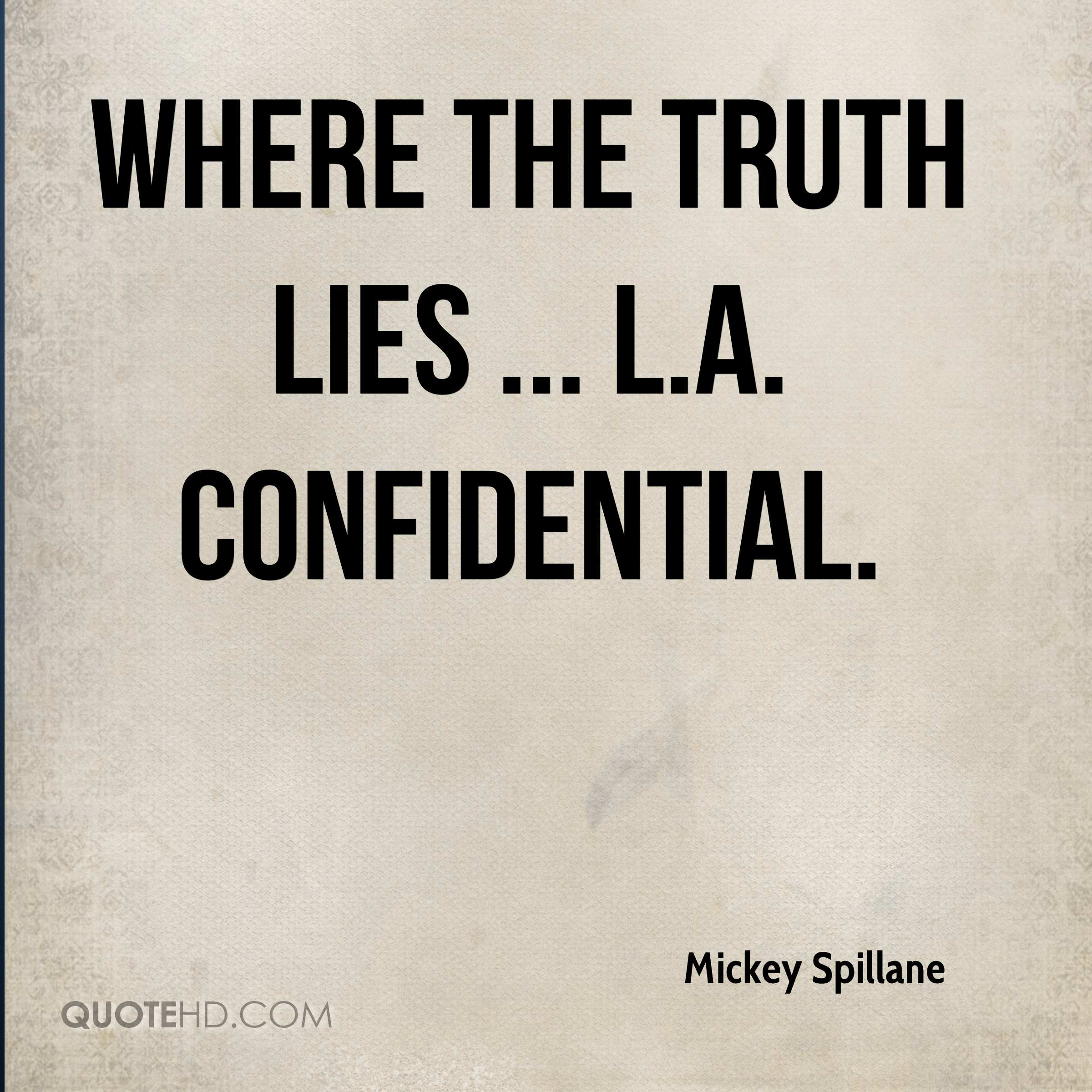 Truth lies quotes