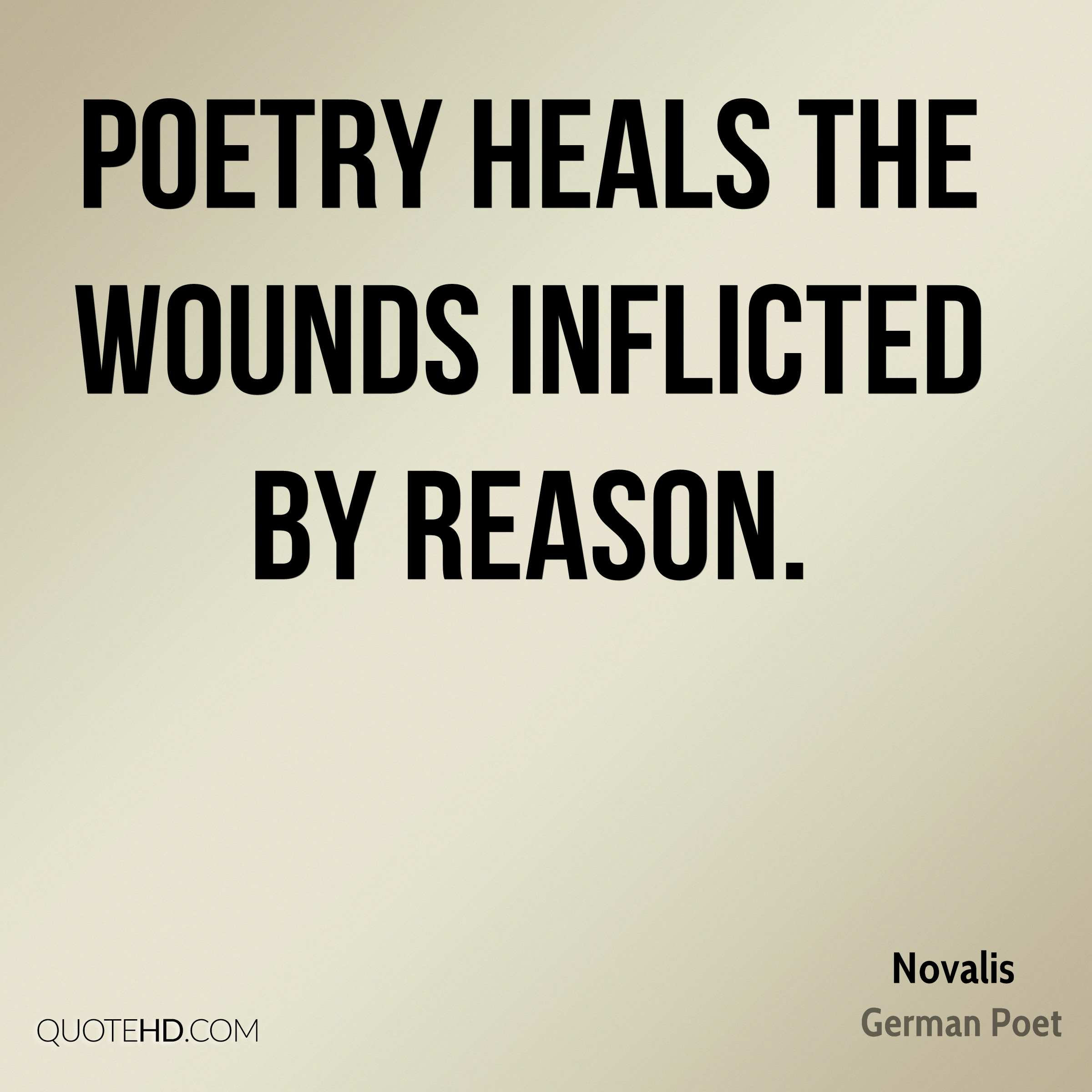 Novalis Poetry Quotes