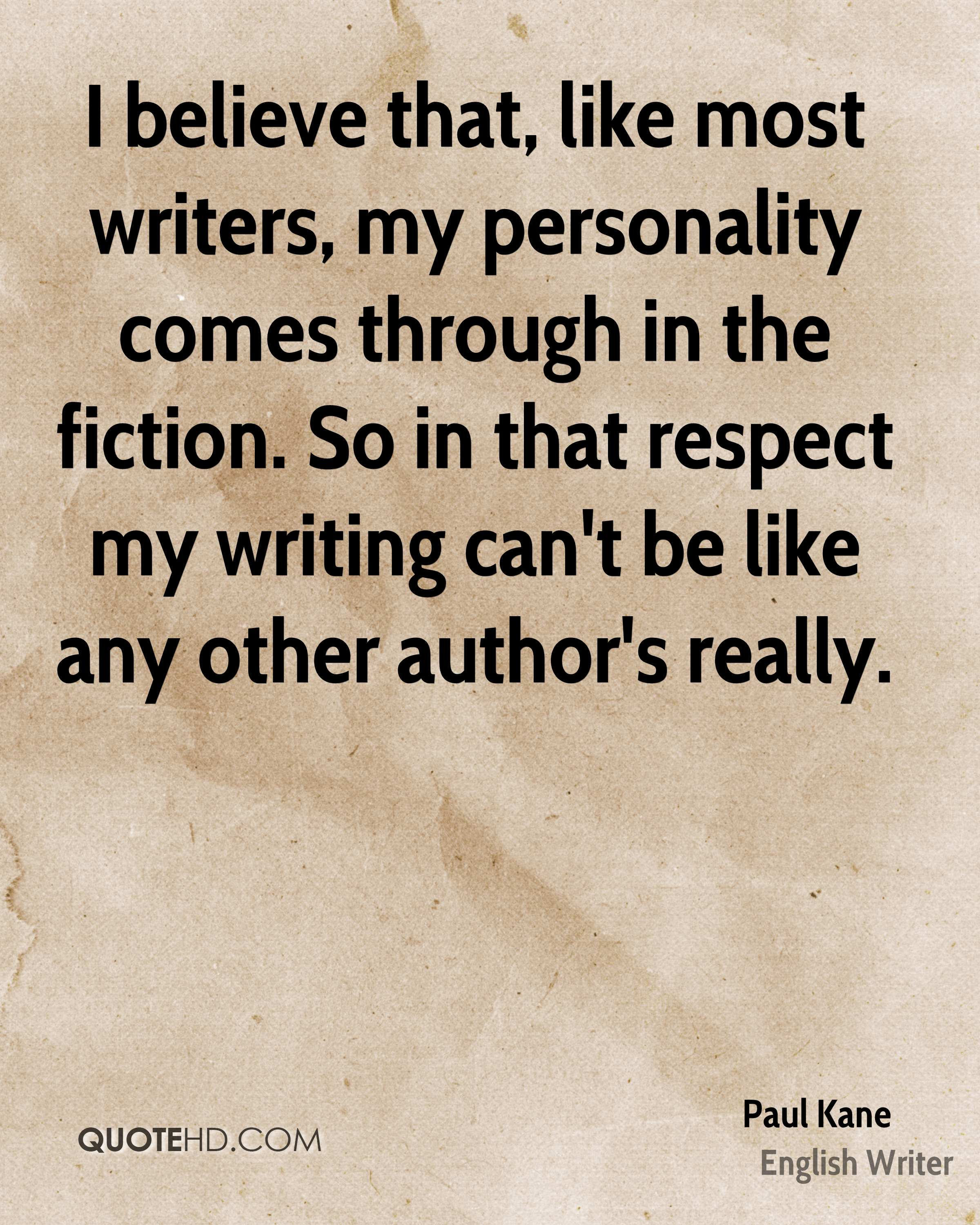 Writers Quotes Paul Kane Quotes  Quotehd