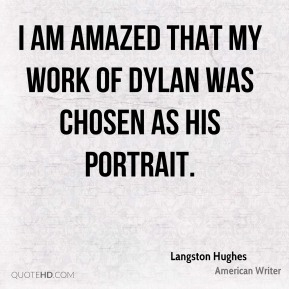 I am amazed that my work of Dylan was chosen as his portrait.