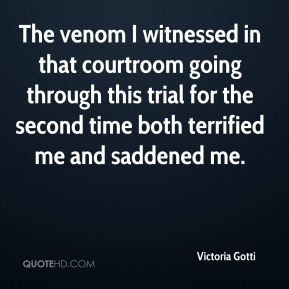 The venom I witnessed in that courtroom going through this trial for the second time both terrified me and saddened me.