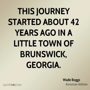 This journey started about 42 years ago in a little town of Brunswick, Georgia.