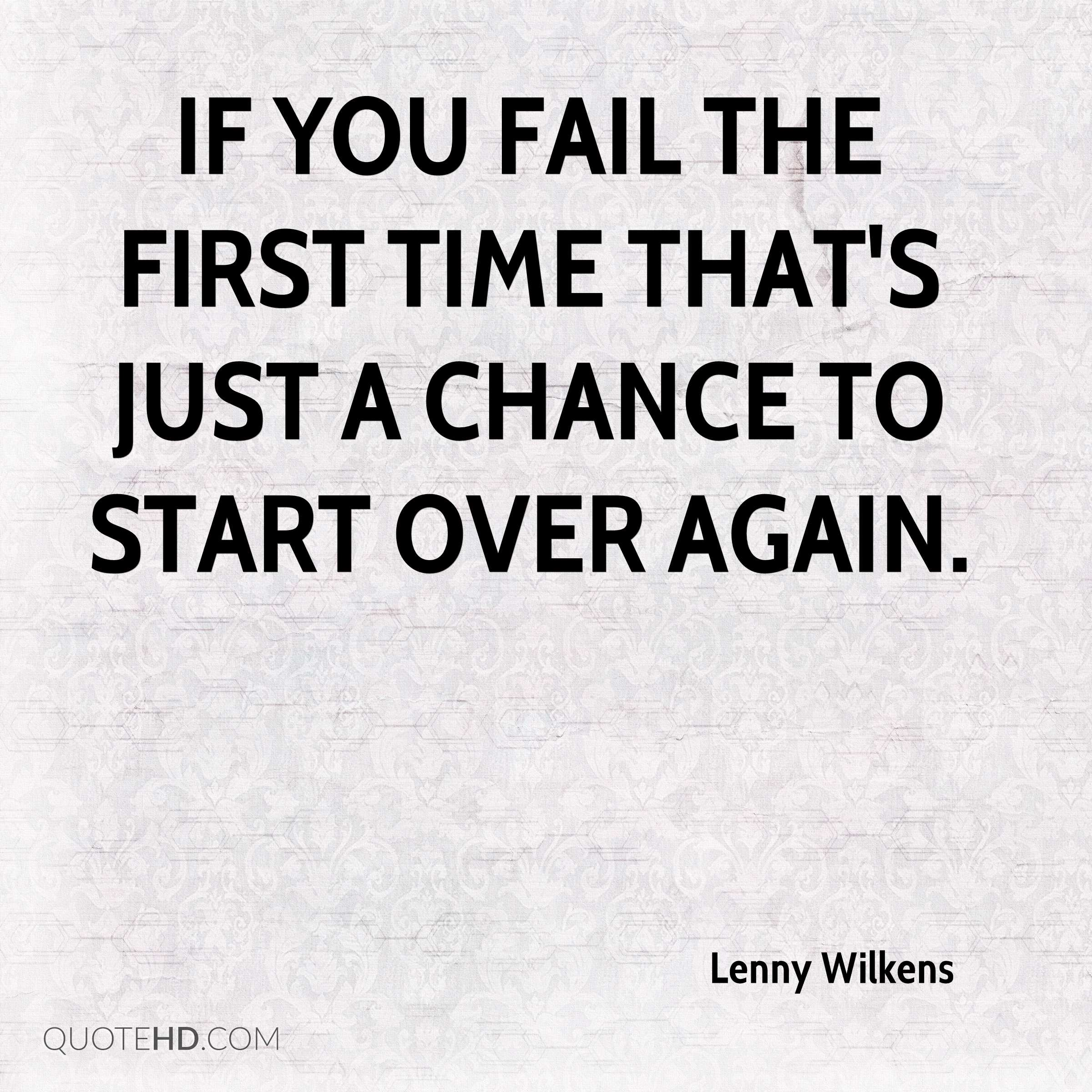 Lenny Wilkens Quotes