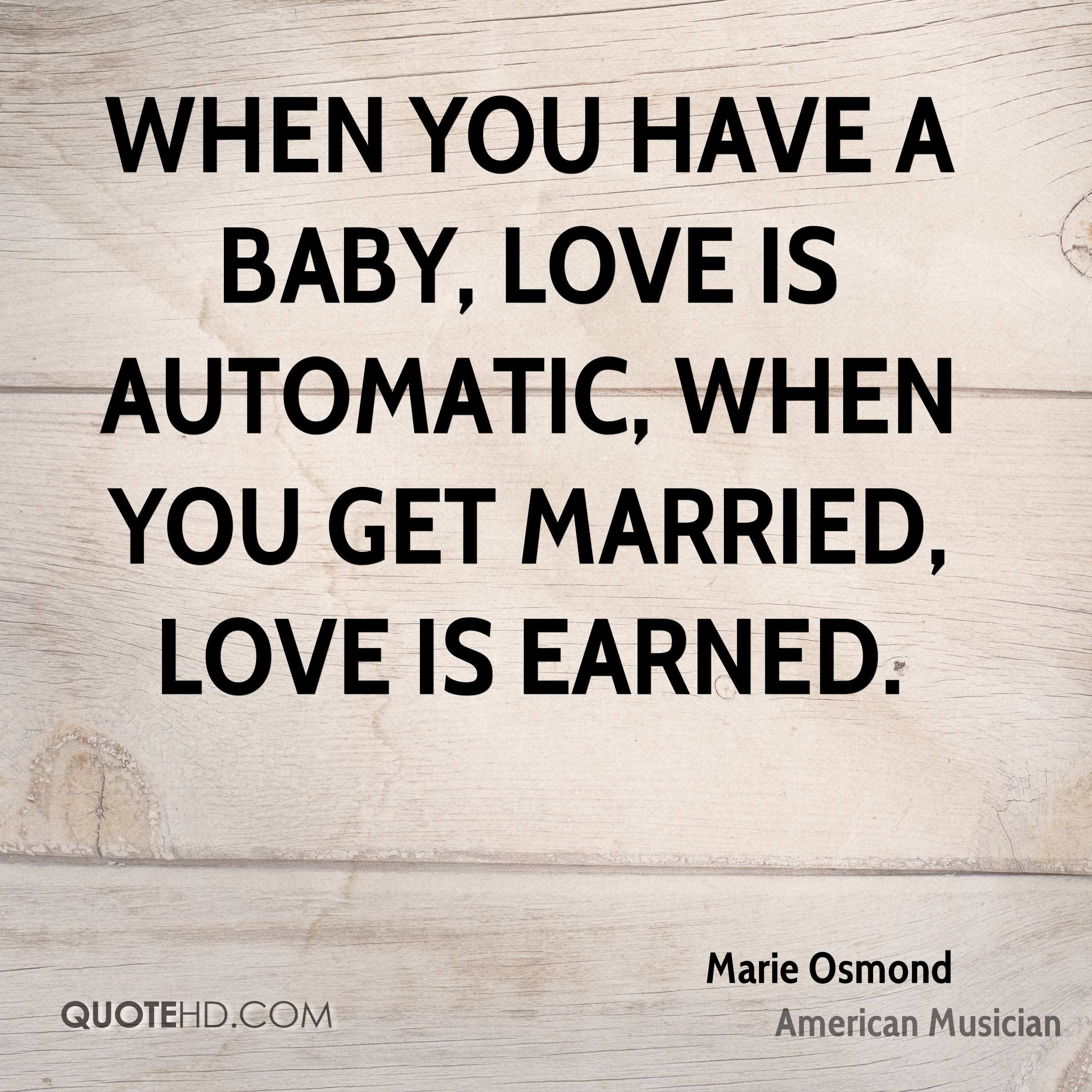 Marie Osmond Marriage Quotes | QuoteHD