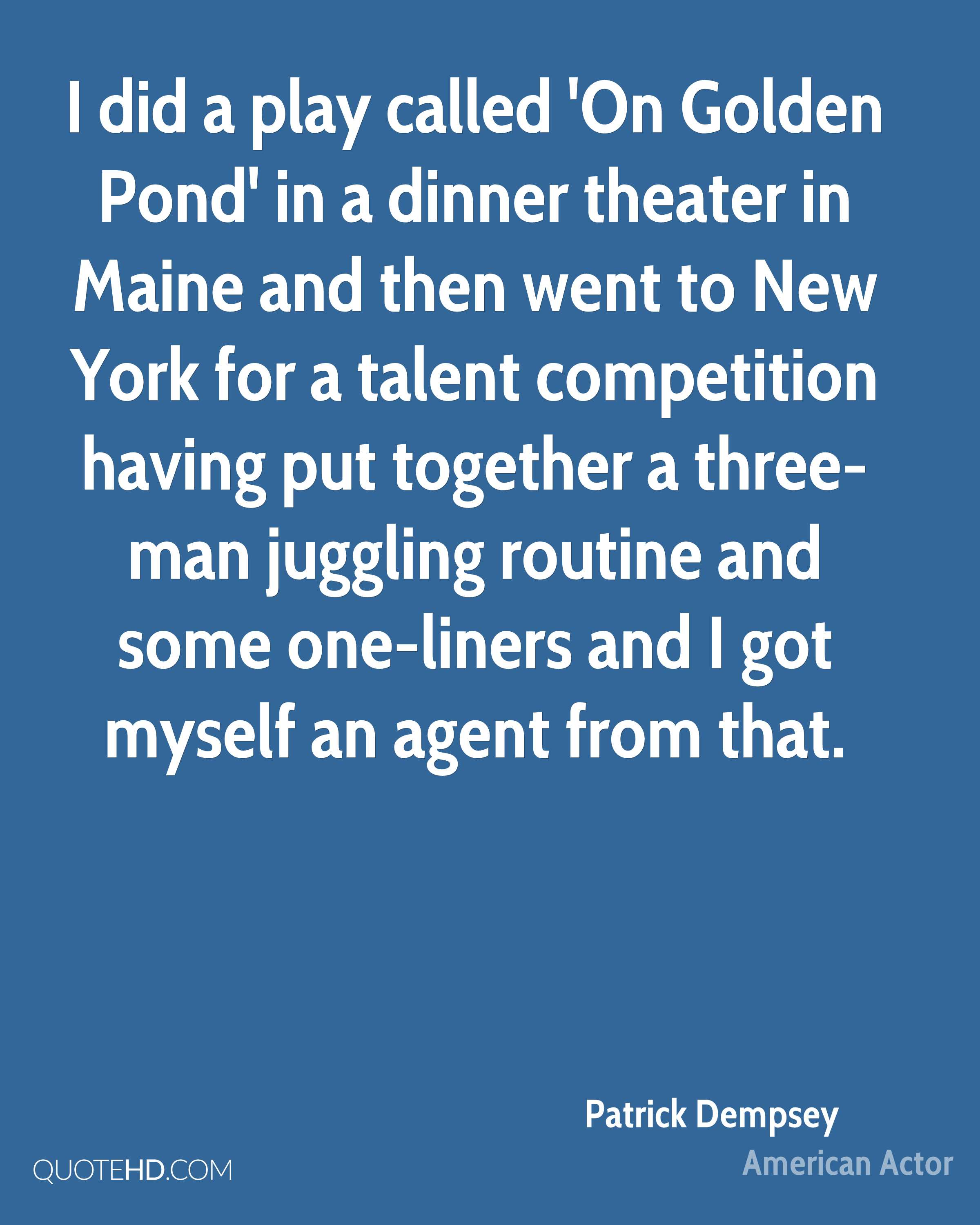 On Golden Pond Quotes On Golden Pond Quotes Amazing On Golden Pond Were Gonna Go Go Go