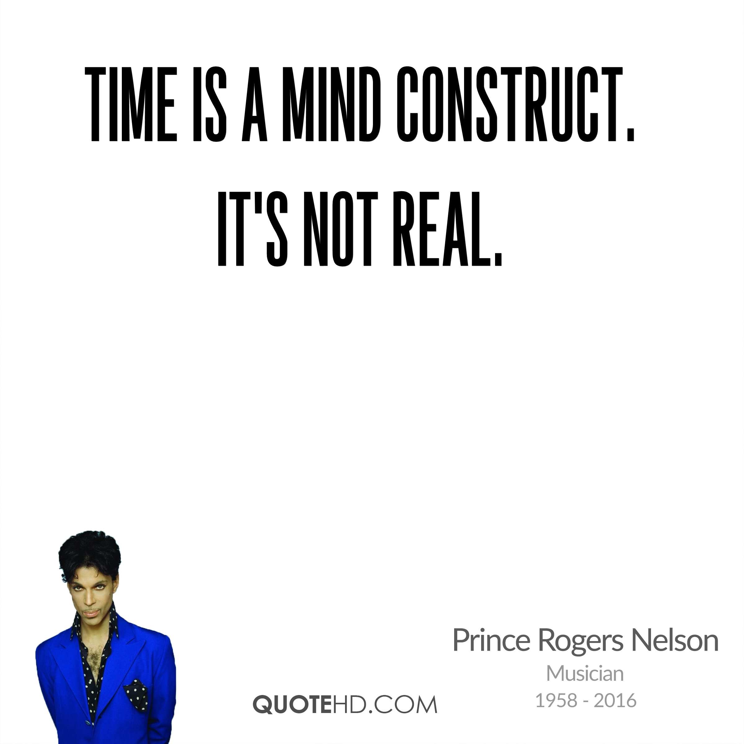 Time is a mind construct. It's not real.