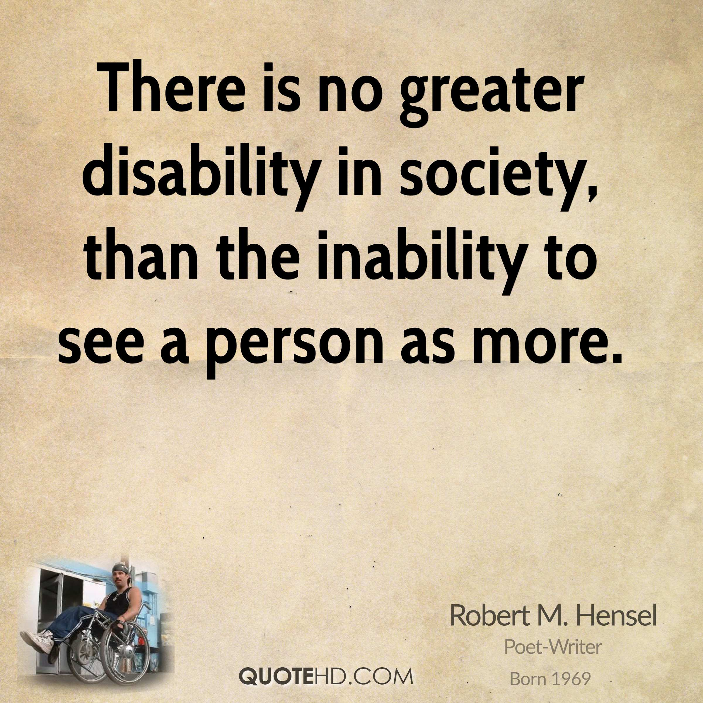 Disability Quotes Best Robert Mhensel Inspirational Quotes  Quotehd