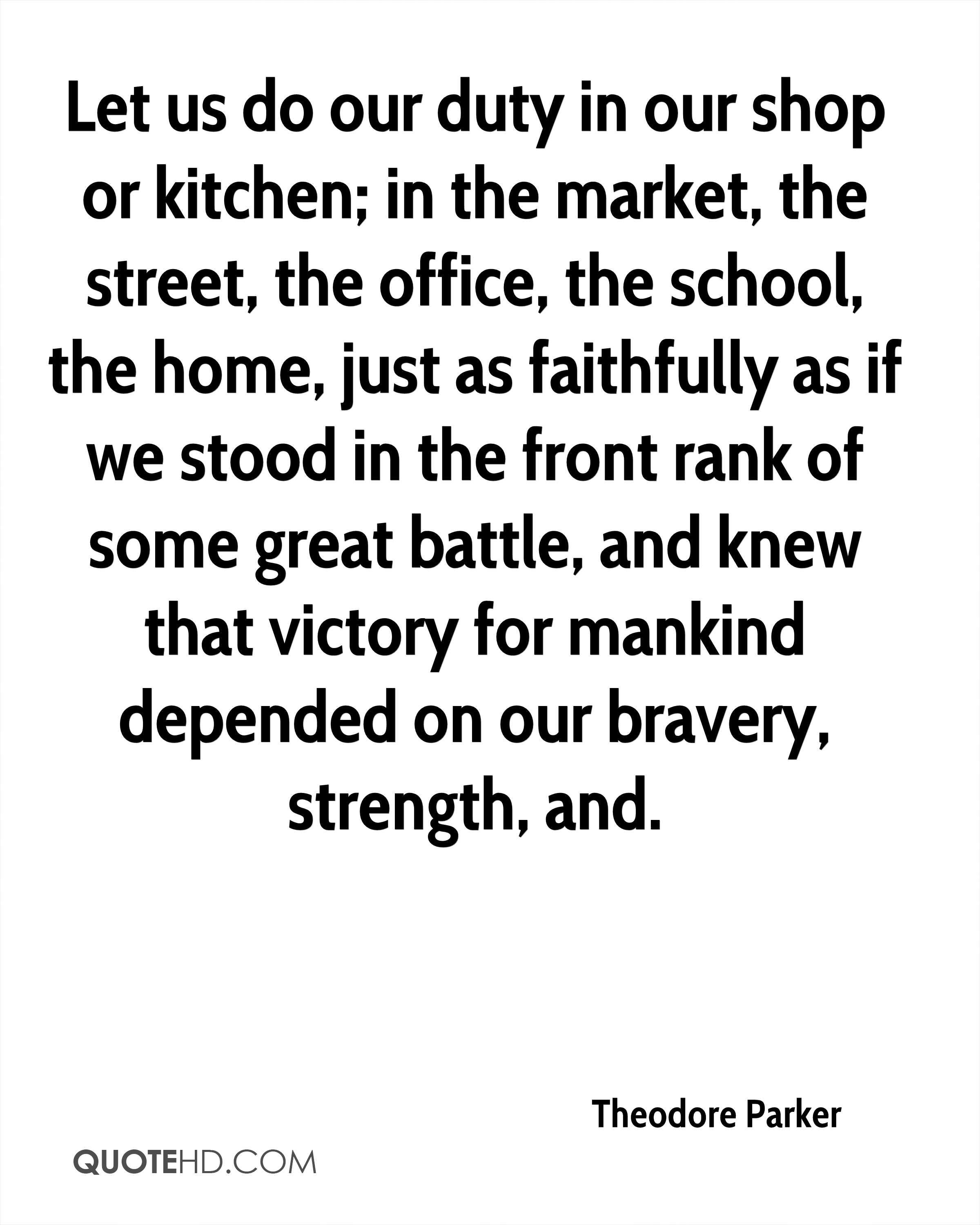 Theodore Parker Quotes | QuoteHD