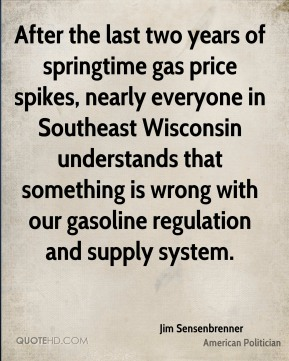 After the last two years of springtime gas price spikes, nearly everyone in Southeast Wisconsin understands that something is wrong with our gasoline regulation and supply system.