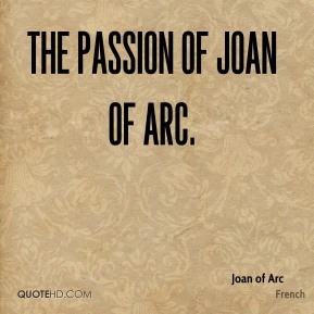 The Passion of Joan of Arc.