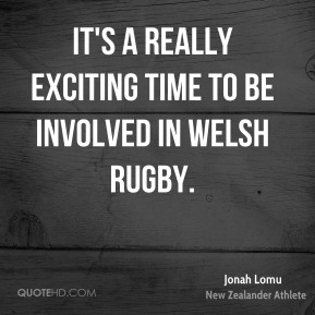 It's a really exciting time to be involved in Welsh rugby.