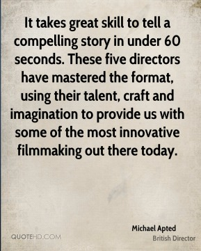 It takes great skill to tell a compelling story in under 60 seconds. These five directors have mastered the format, using their talent, craft and imagination to provide us with some of the most innovative filmmaking out there today.