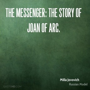 The Messenger: The Story of Joan of Arc.