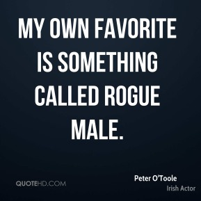 My own favorite is something called Rogue Male.