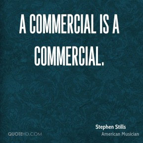 A commercial is a commercial.