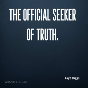 the official seeker of truth.