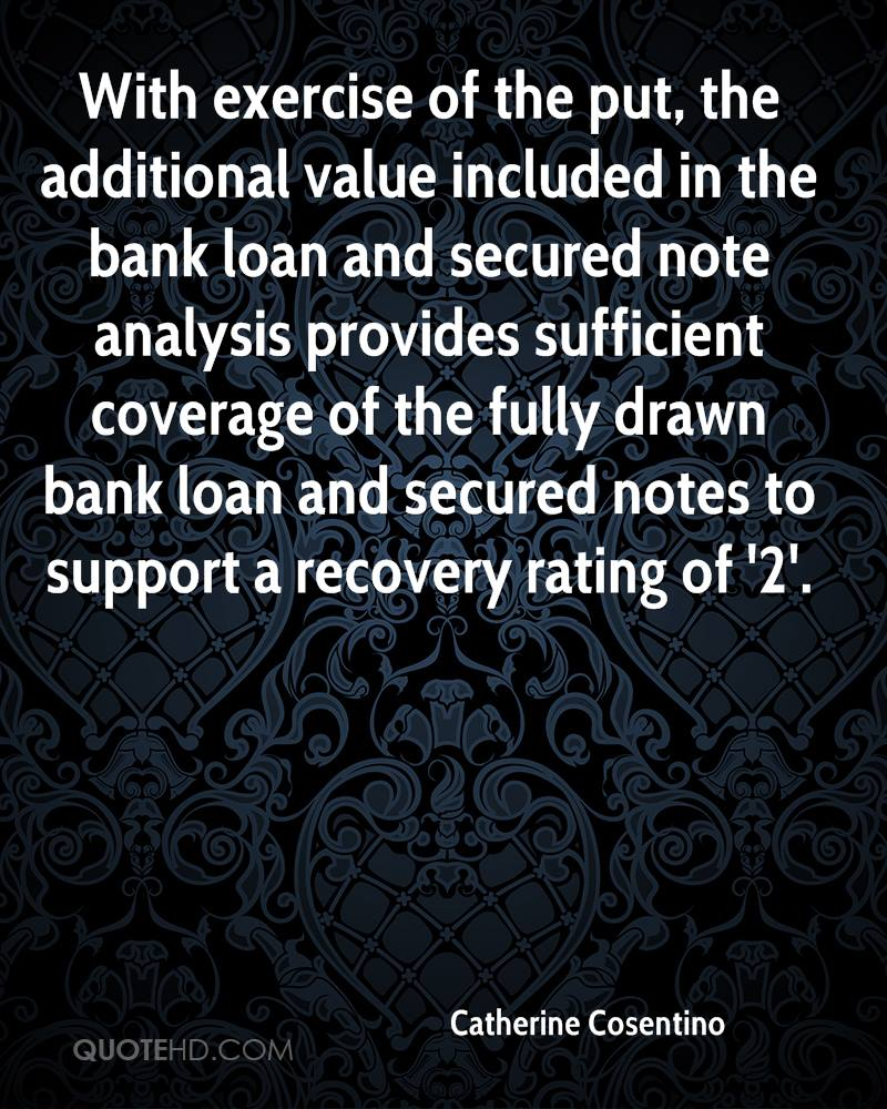 With exercise of the put, the additional value included in the bank loan and secured note analysis provides sufficient coverage of the fully drawn bank loan and secured notes to support a recovery rating of '2'.