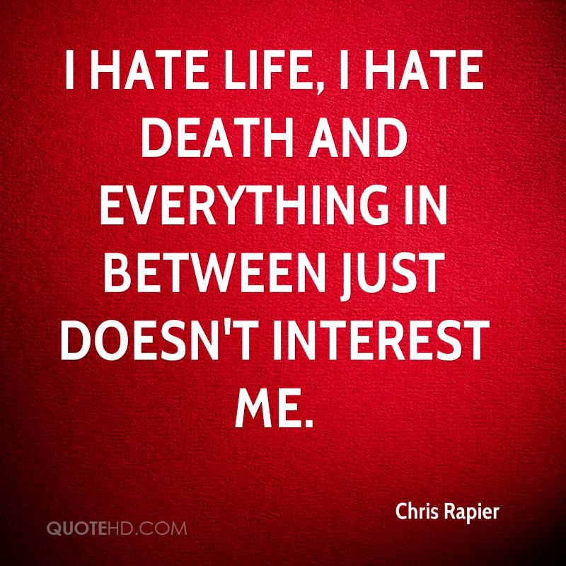Chris Rapier Death Quotes Quotehd