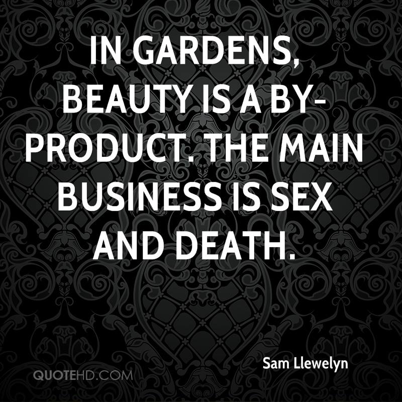 Sam Llewelyn Sex Quotes | QuoteHD