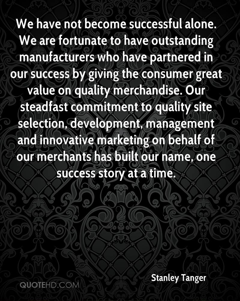 For the consumer: a selection of quotes