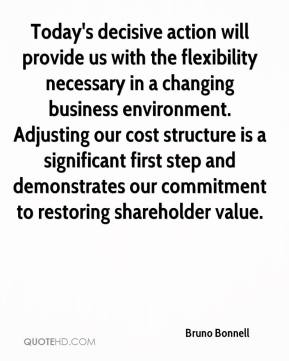 Bruno Bonnell - Today's decisive action will provide us with the flexibility necessary in a changing business environment. Adjusting our cost structure is a significant first step and demonstrates our commitment to restoring shareholder value.