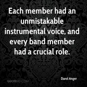 Darol Anger - Each member had an unmistakable instrumental voice, and every band member had a crucial role.